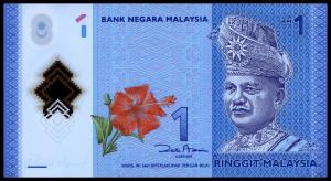 1 ринггит 2012  Малайзия