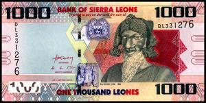 1000 леоне 2010  Сьерра - Леоне