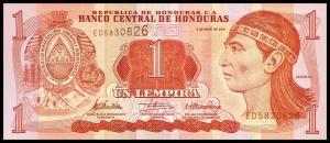 1 лемпира 2010  Гондурас
