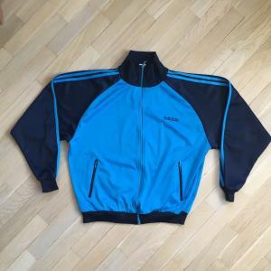 Олимпийка из 90-ых   Adidas, оригинальная, винтажная, есть загрязнения