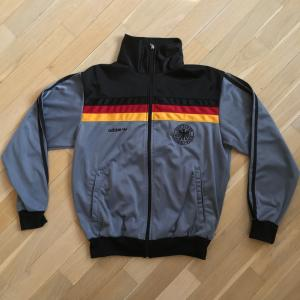 Олимпийка из 90-ых 1990  Adidas Бундас 1990-е, оригинал, 46 размер