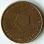 5 евро центов   Нидерланды