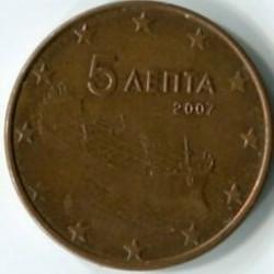 5 евро центов   Греция