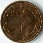 5 евро центов   Германия