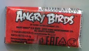 Жевательная резинка 2016 К-Артель Angry Birds красная