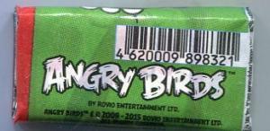 Жевательная резинка 2016 К-Артель Angry Birds зеленая