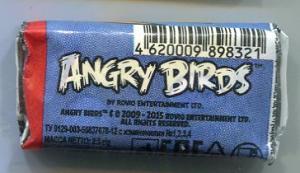 Жевательная резинка 2016 К-Артель Angry Birds синяя