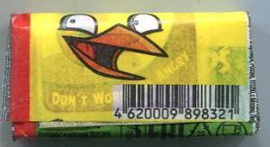 Жевательная резинка 2016 К-Артель Angry Birds некондиция