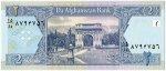 Банкнота иностранная 2002  Афганистан, 2 Афгани