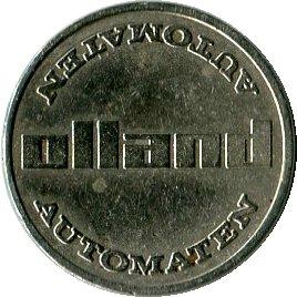 Жетон   Olland Automaten