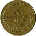 Жетон  1972  Arsenal Leeds United