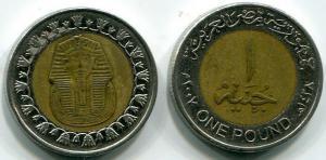 1 фунт   Египта