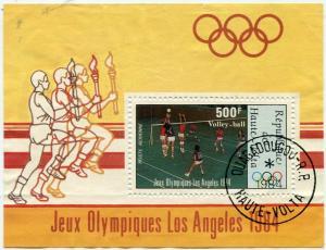 Блок 1984  Олимпийские игры 84