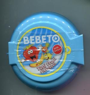Жевательная резинка 2014  Bebeto тутти-фрутти