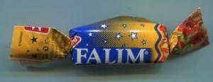 Жевательная резинка   Falim (яблоко)