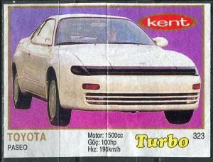 Вкладыши   Turbo номер 323