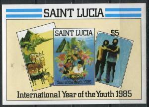 Блок 1985  Международный год молодежи