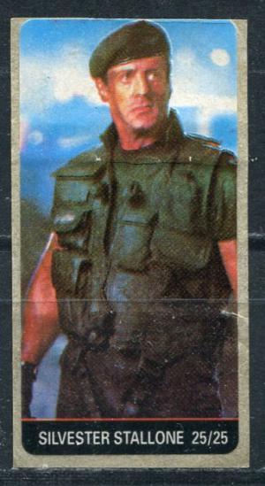 Наклейка   Silvester Stallone 25/25