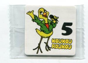 Наклейка 2017  Koukou Roukou, Куку-Руку, №5