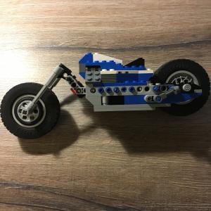 Игрушка   Мотоцикл Lego оригинальный, некомплект