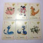 Календари игральные 2001  Pokemon, Покемон, 26 карт в коробке