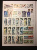 Альбом для марок   16 листов, 9 строк, 23х30,5 см, и 720 марок