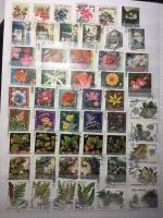 Альбом для марок   20 листов, 9 строк, 23х30,5 см, и 1170 марок