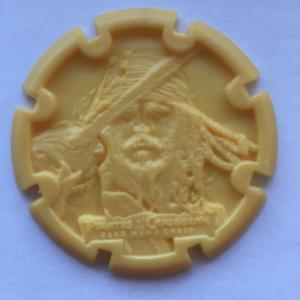 Кепсы/Фишки   Пираты карибского моря от чипсов Estrella