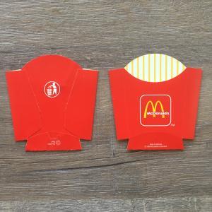 Упаковка 1983  Макдональдс MacDonalds Катофель Фри, Германия
