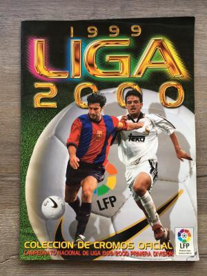Альбом для наклеек 1999  Испанская лига ESTE, 74 из 573 наклеек и буклет