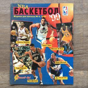 Альбом для наклеек 1999 Panini NBA Basketball Panini, Наклей-ка, 41 наклейка