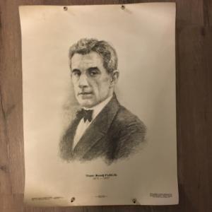 Плакат, Афиша 1984  Композитор Морис Равель