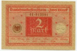 2 марки 1920  Германия