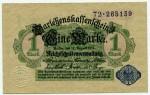 Банкнота иностранная 1914  Германия, 1 марка