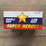 Блок жевательной резинки 2019 К-Артель Super Heroes, 120 жвачек, полный, не вскрытый