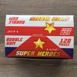 Жевательная резинка 2019 К-Артель Блок, Super Heroes, 120 жвачек