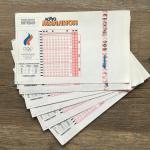 Лотерейный билет 1996  Лотто Миллион, Олимпийский коммитет, 006 серия