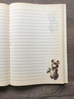 Блокнот 1979  Олимпийский мишка, полный, без надписей