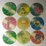 Кепсы/Фишки   Покемоны, Pokemon, 9 шт.