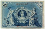 100 марок  1908  Германия