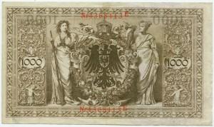 1000 марок  1910  Германия