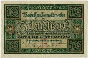 10 марок 1920  Германия