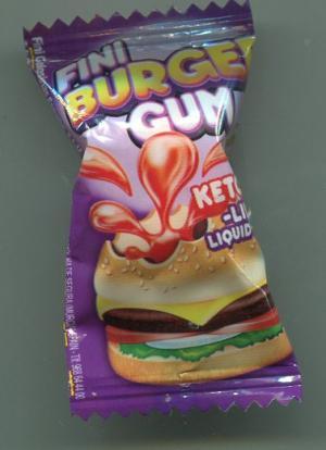 Жевательная резинка 2016  Burger Gum