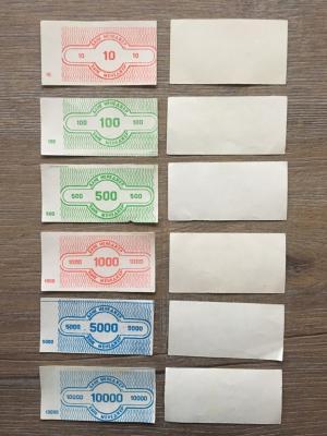 Игрушечные деньги   комплект, 6 шт из игры Менеджер