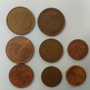 Набор монет   Евросоюз 8 шт. Цена за все