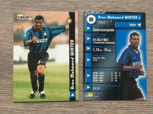 Спортивная карточка 1999  planeta Calcio cards 1999, номер 69