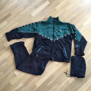 Олимпийка из 90-ых   Puma king и бонус - спортивные штаны и капюшон