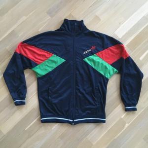 Олимпийка из 90-ых   Adidas, M, 48 размер, Сеул, Ласточка, Чайка, Попугай.