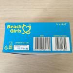 Блок жевательной резинки 2019 К-Артель Beach Girl клубника, 120 жвачек, полный, не вскрытый